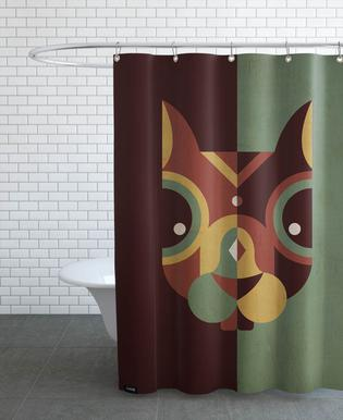 Squirrel As Shower Curtain By Oscar Odd Diodoro