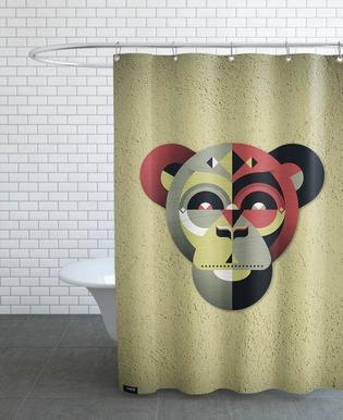 Monkeys shower curtains | JUNIQE