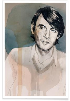 Fabrizio De Andre Poster