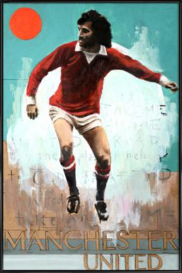 One Love - Manchester United Poster in Standard Frame