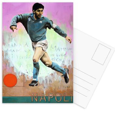 One Love Napoli Postcard Set