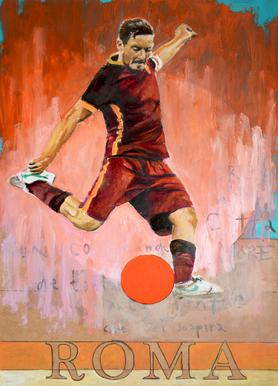 One Love Roma Canvas print