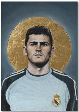 Football Icon - Iker Casillas Notebook