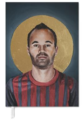 Football Icon - Iniesta -Terminplaner