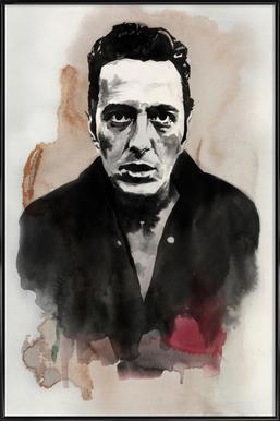 Joe Strummer Poster in Standard Frame