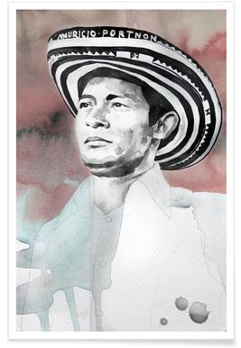 Andres Landero -Poster