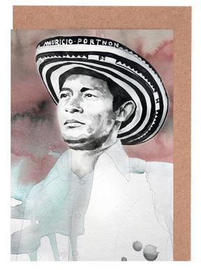 Andres Landero -Grußkarten-Set