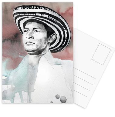 Andres Landero -Postkartenset