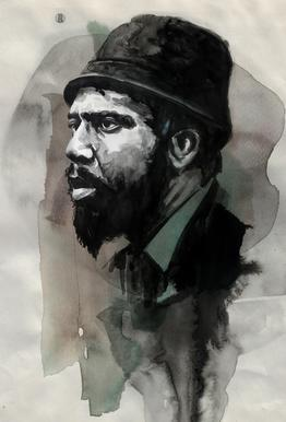 Thelonious Monk Acrylic Glass Print