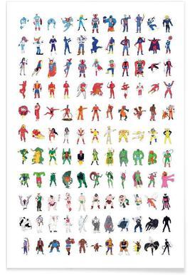 Superhelden Poster Und Bilder Von Superhelden Kaufen Juniqe Ch