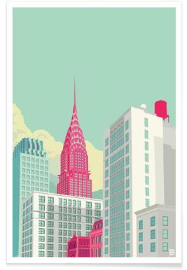 Park Avenue New York City Poster