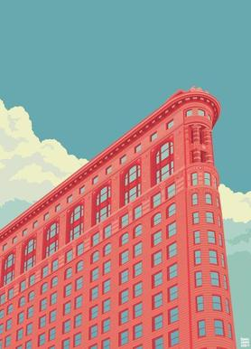 Flatiron Building New York City Canvas print