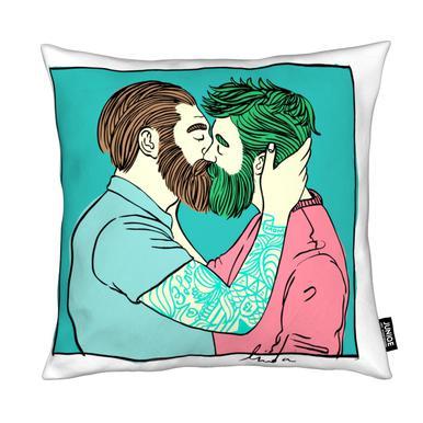 Men Kiss 2 Cushion