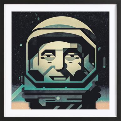 Mercury Poster in Wooden Frame