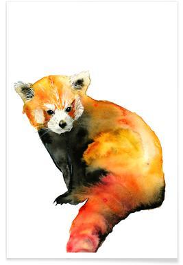 Red Panda - Larissa van der Laan - Poster 27a861fa0ce34