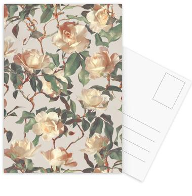 Vintage Roses As Canvas Print By Micklyn Le Feuvre
