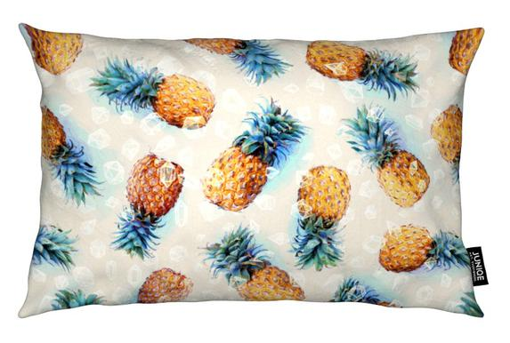 Pineapples + Crystals Cushion