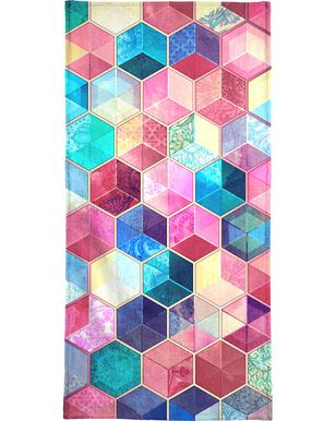 Topaz And Rubey Crystal Honeycomb Cubes som Personal Planner  ffa9b2145f316