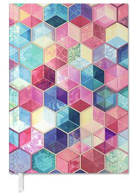 Topaz And Rubey Crystal Honeycomb Cubes Agenda