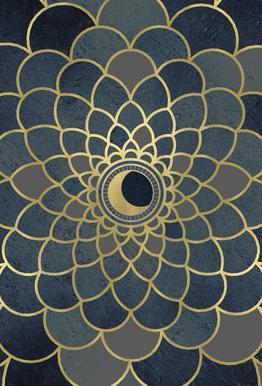 Mystic Moon Acrylglasbild