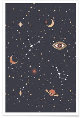 Mystical Galaxy -Poster