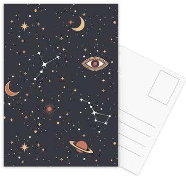 Mystical Galaxy -Postkartenset