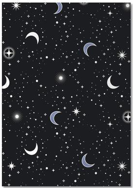 Stars Holiday Notebook