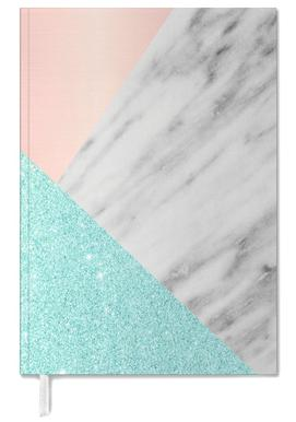 Spring Marble Collage Personal Planner