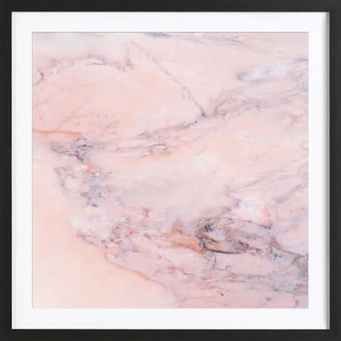 Blush Marble ingelijste print