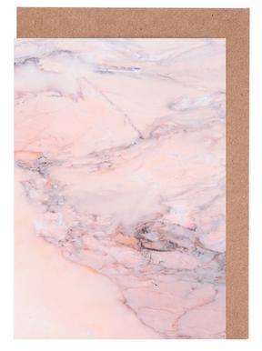 Blush Marble wenskaartenset