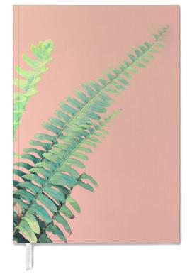 Ferns on Blush Prints agenda
