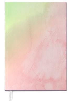 Greenely and Rose Quartz Prints agenda