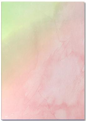 Greenely and Rose Quartz Prints notitieblok