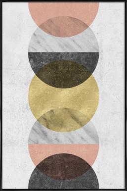 Moonlight ingelijste poster