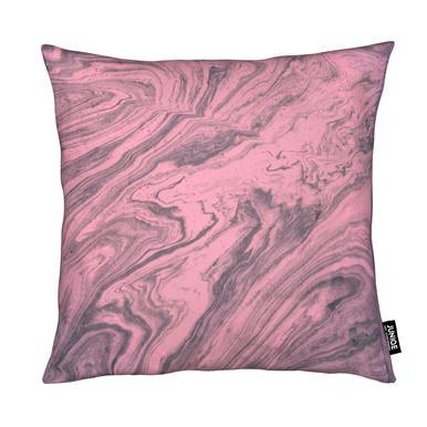 Pink Marbled Texture Kussen