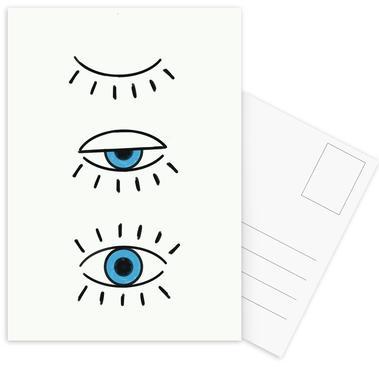 Summer Evil Eye ansichtkaartenset