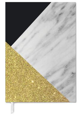 Gold Marble Collage Personal Planner