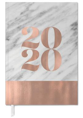 2019 Marble Edition Personal Planner