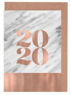 2019 Marble Edition Set de cartes de vœux