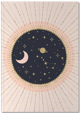 Love in Space Carnet de note