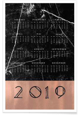 2019 Black Marble Edition -Poster