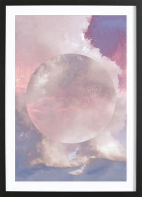 Another Galaxy -Bild mit Holzrahmen