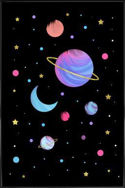 Great Universe -Bild mit Kunststoffrahmen