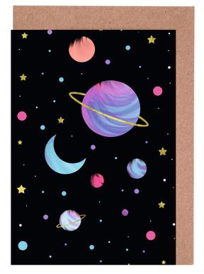 Great Universe -Grußkarten-Set