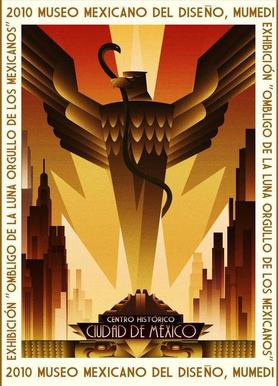 Art Deco Movie Poster