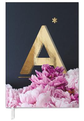 Flower Alphabet A -Terminplaner