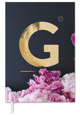 Flower Alphabet G Agenda