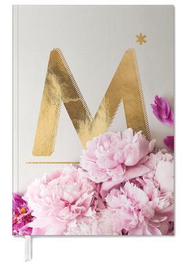 Flower Alphabet M agenda