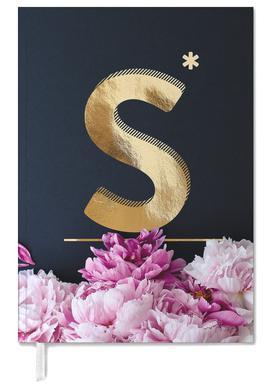 Flower Alphabet S Personal Planner