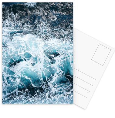 Blautöne des Meeres I Postkartenset